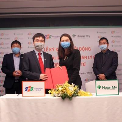 Tập đoàn y khoa Hoàn Mỹ ký kết hợp tác FPT xây dựng lộ trình y tế thông minh